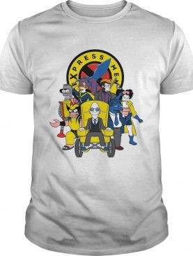 Express Men futurama XMen shirt