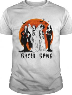 Ghoul Gang sunset Halloween shirt