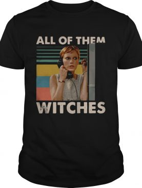 Mia Farrow in Rosemary's Baby all of them witches vintage shirt