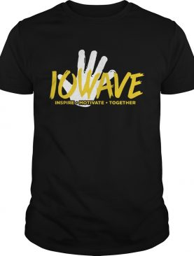 IOWAVE inspire Motivate Together new 2019 shirt