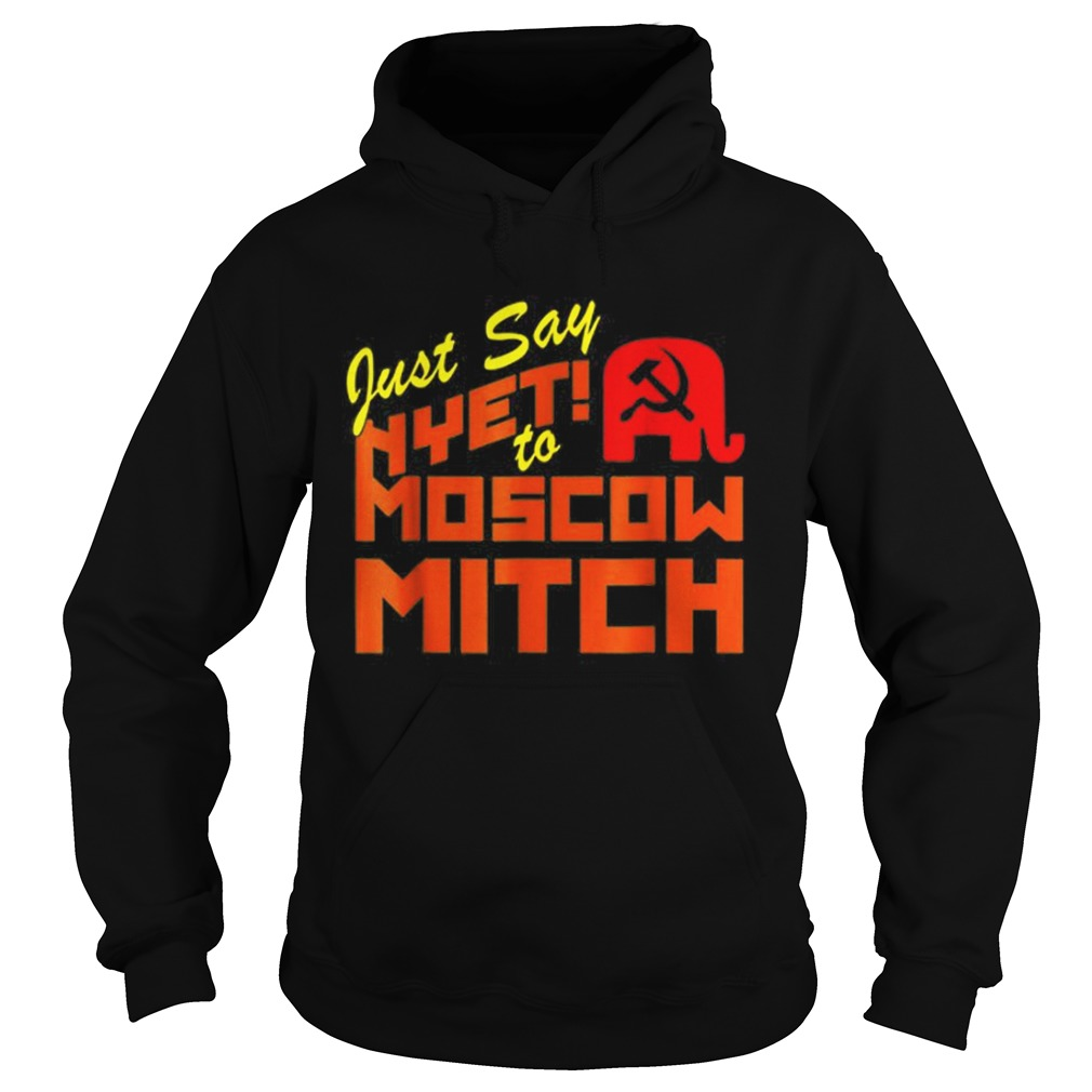 Just Say Nyet To Moscow Mitch Communist Party of Great Britain Hoodie