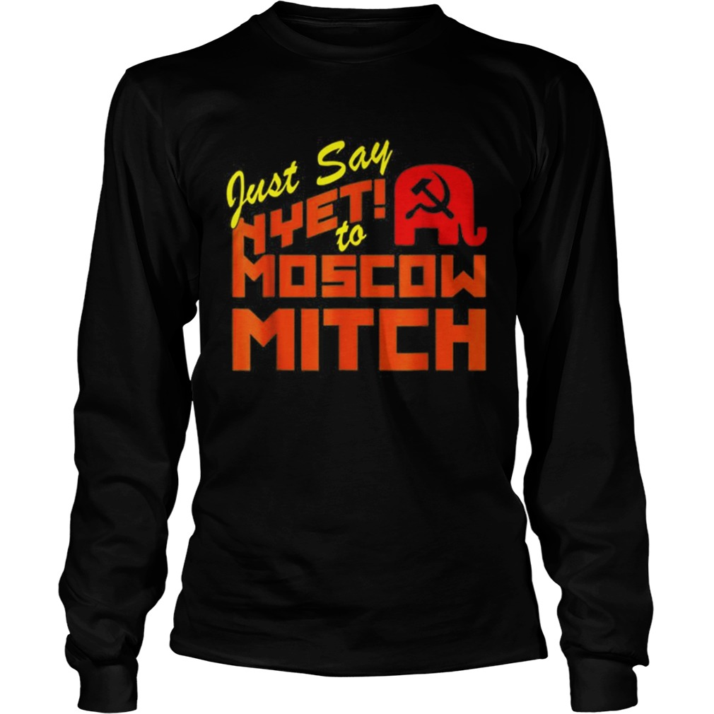 Just Say Nyet To Moscow Mitch Communist Party of Great Britain LongSleeve