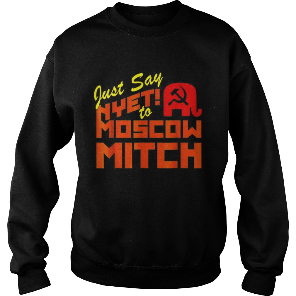 Just Say Nyet To Moscow Mitch Communist Party of Great Britain Sweatshirt
