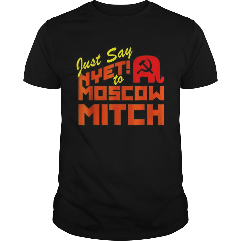 Just Say Nyet To Moscow Mitch Communist Party of Great Britain Unisex