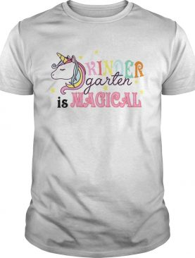 Kindergarten Unicorn Back To School Girls Kingergarten TShirt