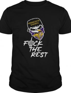 Minnesota Vikings fuck the rest football shirt