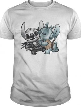 Stitch and Angel Nightmare Before Xmas shirt