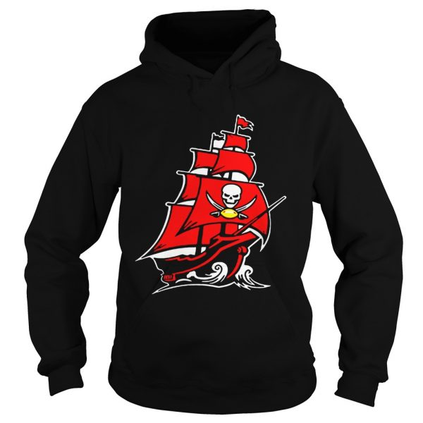 Tampa Bay Buccaneers Pirate Ship T Hoodie