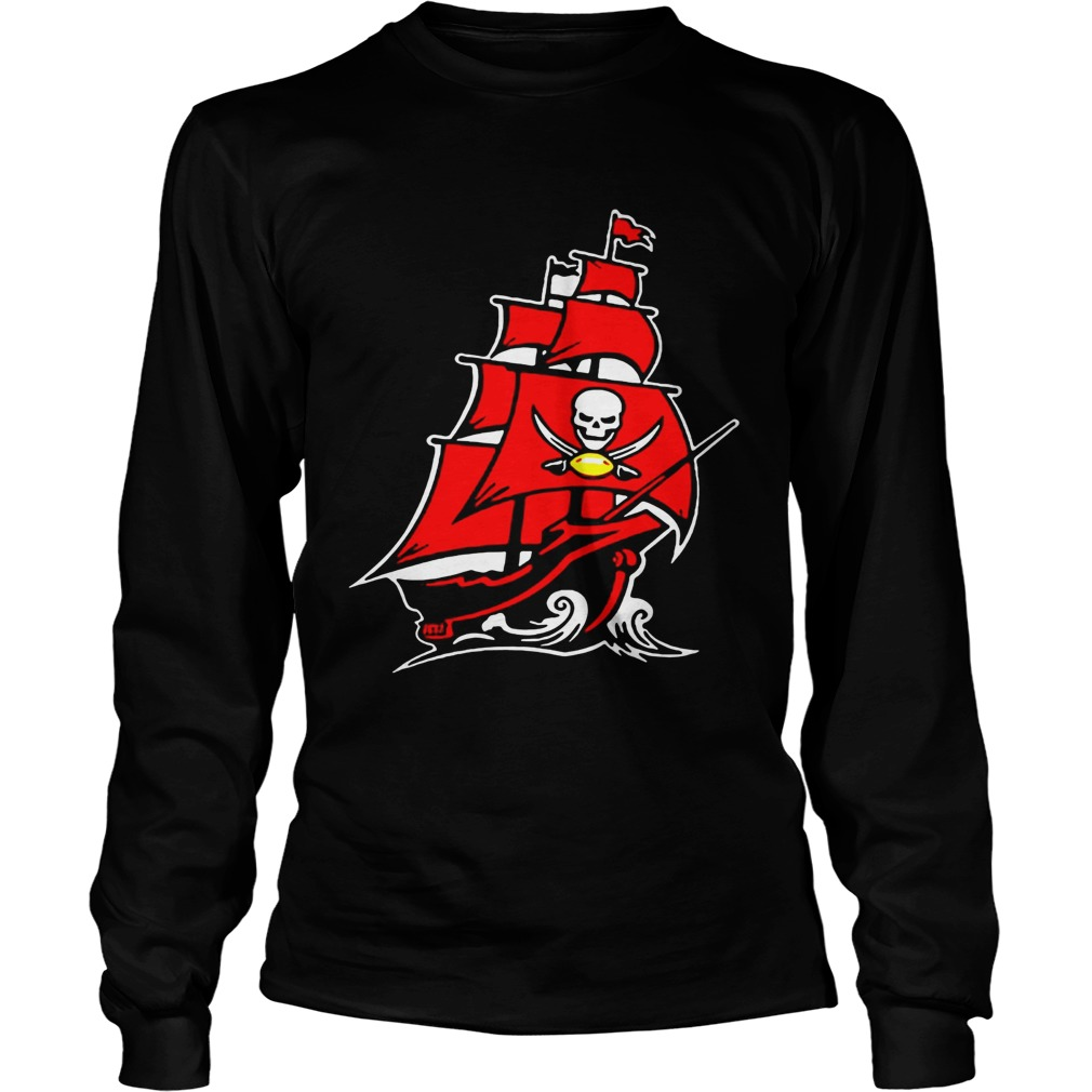 Tampa Bay Buccaneers Pirate Ship T LongSleeve