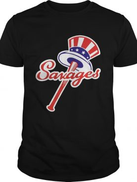 Tommy Kahnle Yankees Savages America Flag shirt