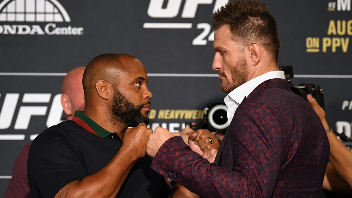 UFC 241 fight card predictions — Daniel Cormier vs. Stipe Miocic: Odds expert picks date