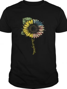 4th of July independence day sunflower you are my sunshine shirt