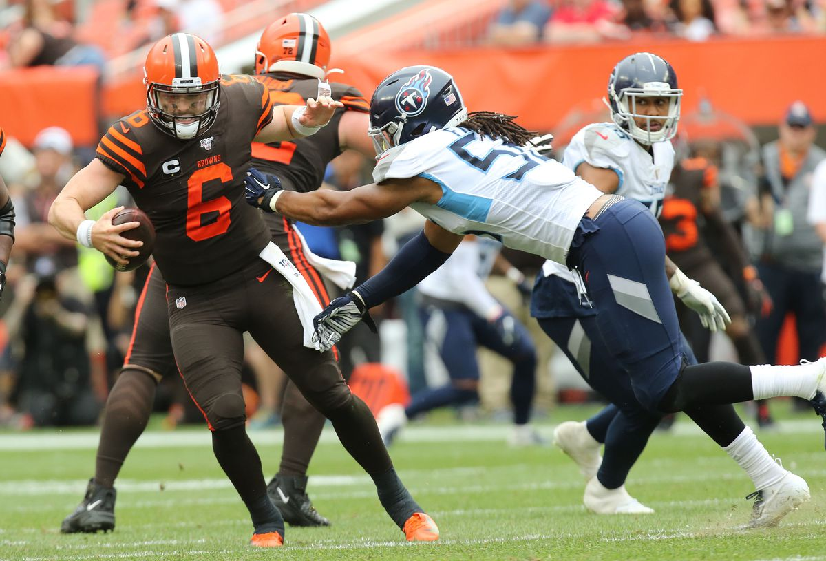 'Adversity is hitting early' as Browns' Baker Mayfield-OBJ era opens with loss to Titans