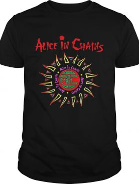 Alice in Chains logo shirt