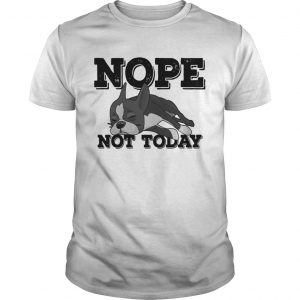 Boston Terrier Nope Not Today Shirt Unisex