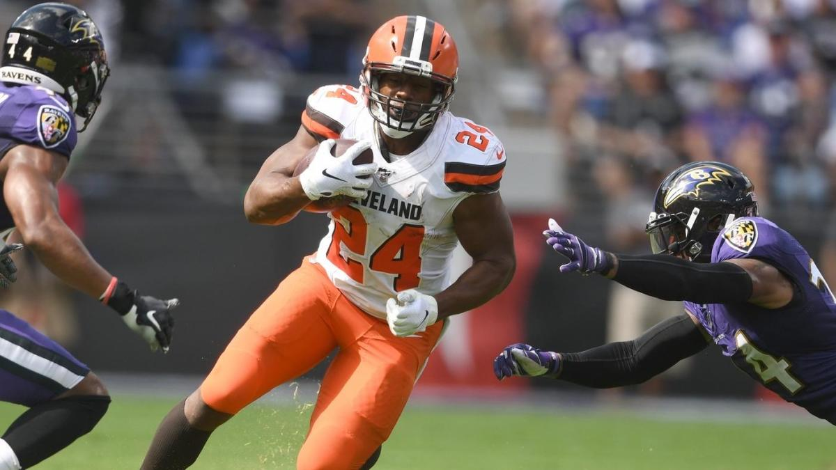 Browns at Ravens final score: Nick Chubb goes for three touchdowns as Cleveland takes over first place in AFC North