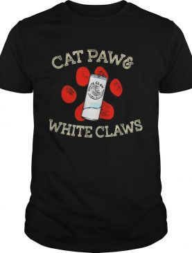 Cat paws and White Claws shirt