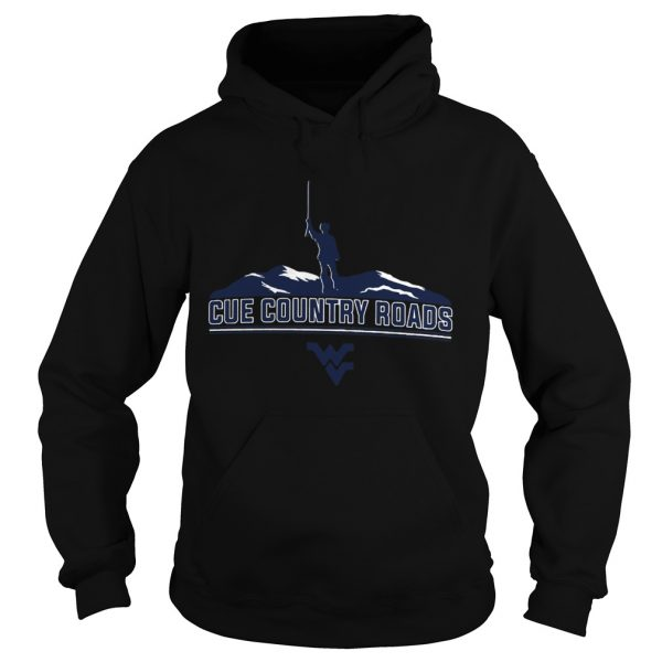 Cue Country Roads Mountaineers  Hoodie