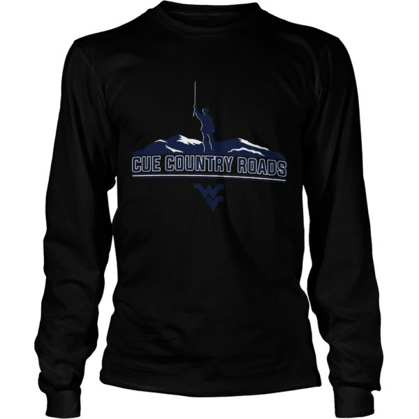 Cue Country Roads Mountaineers  LongSleeve