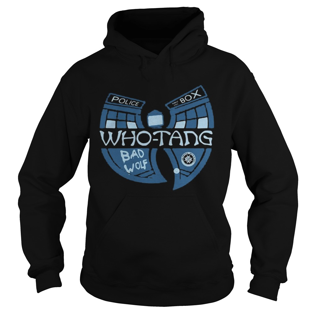 Doctor Who Whotang clan Bad Wolf Hoodie