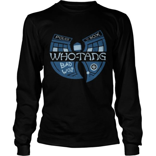 Doctor Who Whotang clan Bad Wolf  LongSleeve