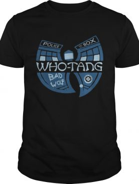 Doctor Who Whotang clan Bad Wolf shirt