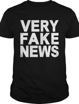 Donald Trump Jr Very Fake News Shirt