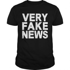 Donald Trump Jr Very Fake News Shirt Unisex