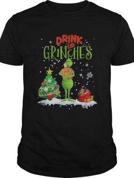 Drink up Grinches Christmas Crown Royal shirt