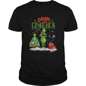 Drink up Grinches Christmas Jack Daniels  Unisex