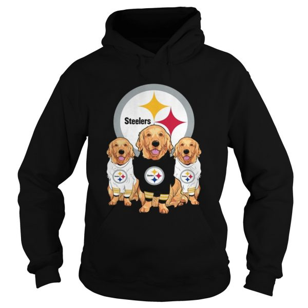 Golden Retriever Pittsburgh Steelers Shirt Hoodie