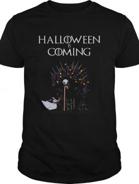 Halloween Is Coming Jack Skellington Game Of Thrones Shirt