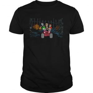 Horror Halloween driving Jeep  Unisex