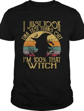 I Just Took A Dna Test Turns Out Im 100 Percent That Witch TShirt