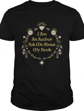 I am an author ask me about my book shirt