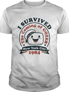 I survived the coming gozer New York city 1984 shirt