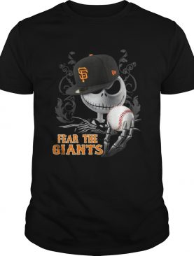 Jack Skellington Fear The San Francisco Giants shirt