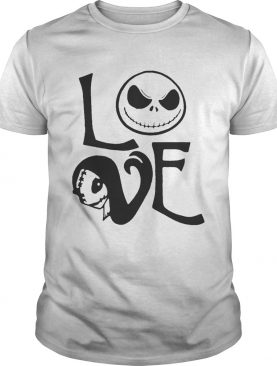 Jack Skellington and Sally love Halloween shirt