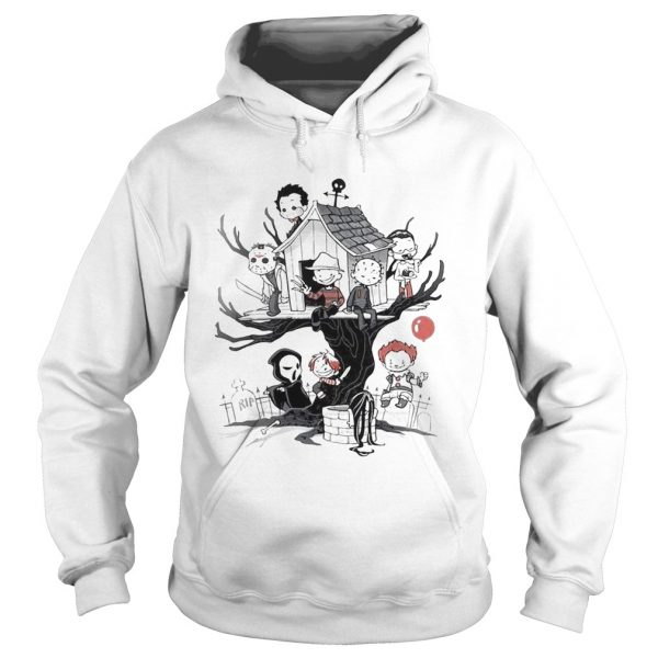 Maniac Park Horror movie Theme Park tree Halloween  Hoodie