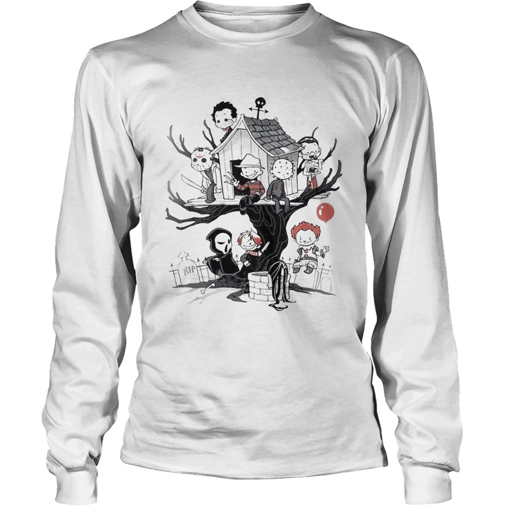 Maniac Park Horror movie Theme Park tree Halloween LongSleeve