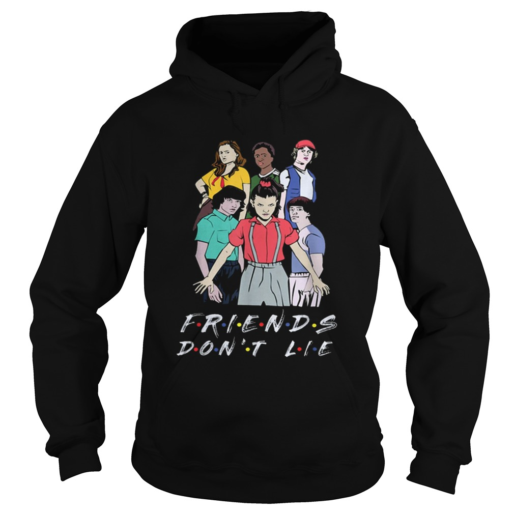 Nice Friends Dont Lie Movie Lover Stranger s Hoodie