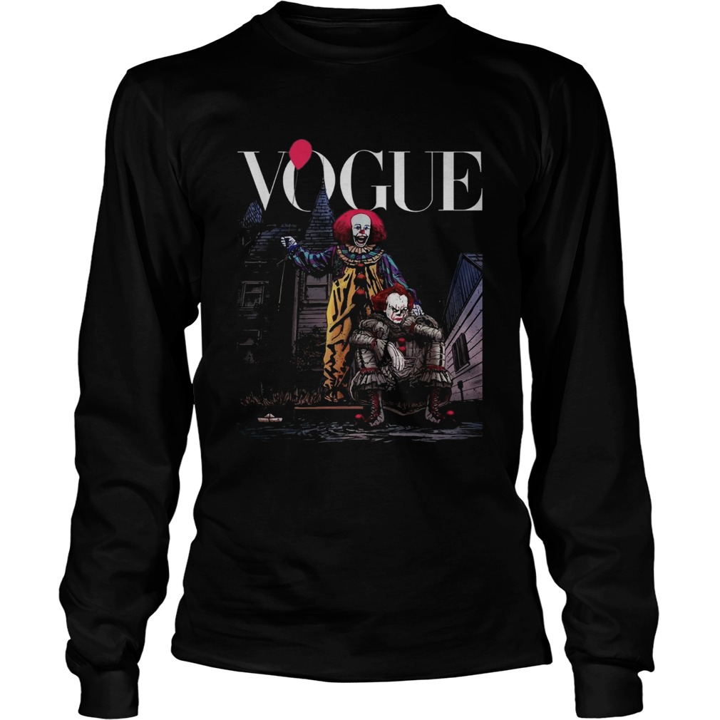 Pennywise IT vogue LongSleeve