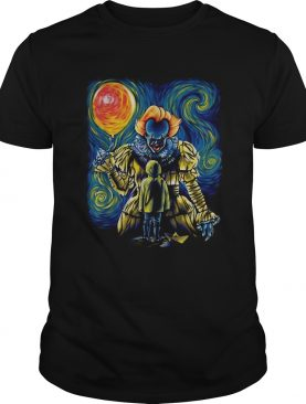 Pennywise and Georgie Van Gogh shirt