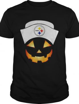 Pittsburgh Steelers Nurse Pumpkin face shirt