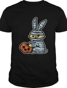 Rabbit pumpkin Halloween shirt