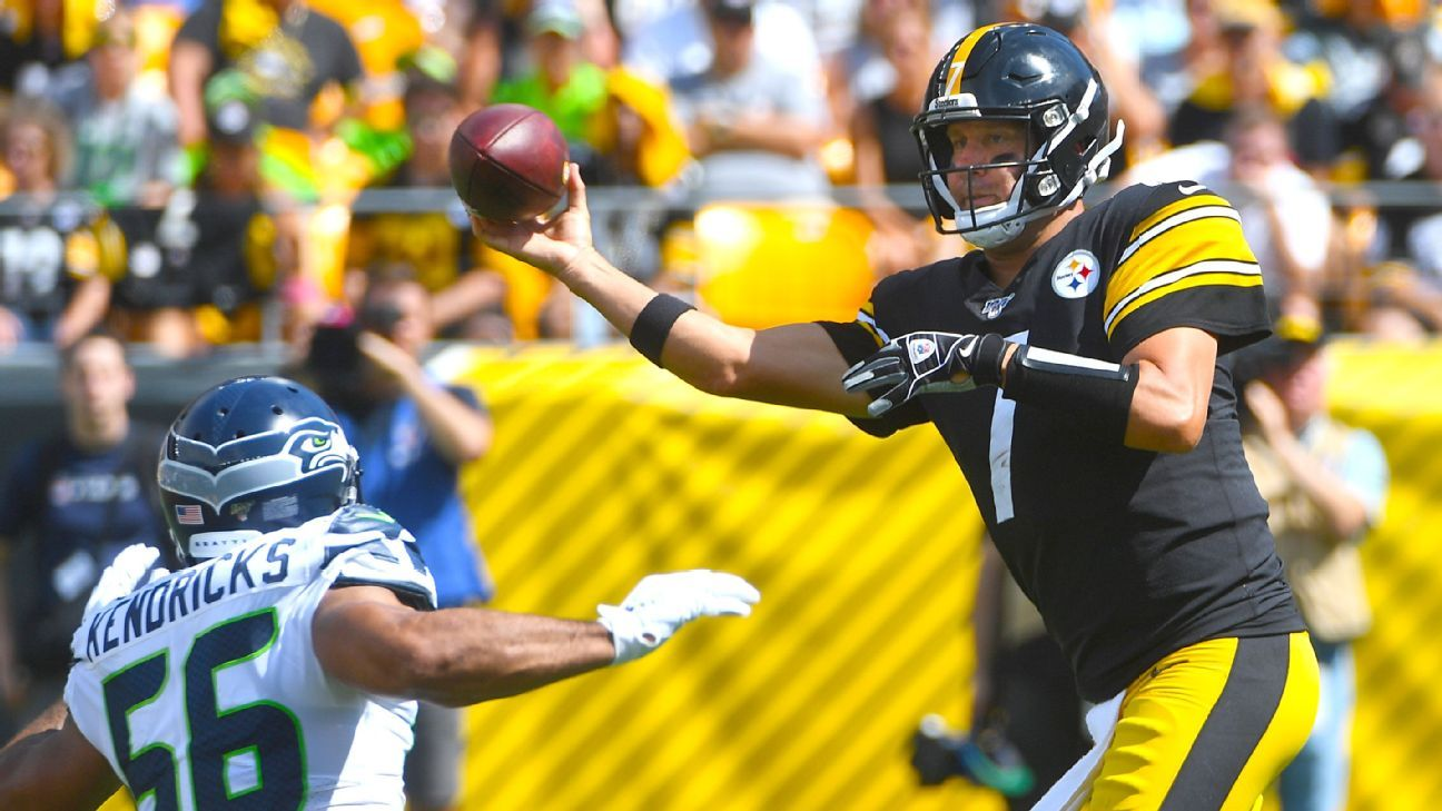 Roethlisberger Conner hurt as Steelers fall to 0-2