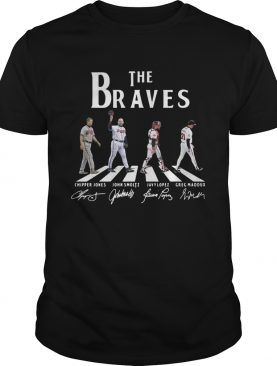 The Braves abbey road signature shirt