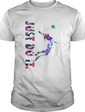 Volleyball Girl Just Do It Shirt