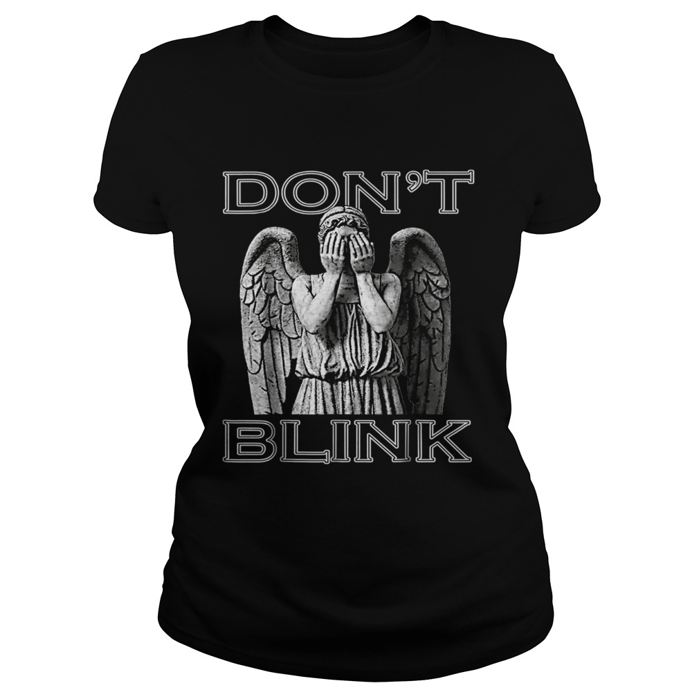 Weeping Angel Dont Blink Classic Ladies