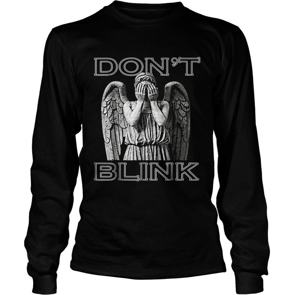 Weeping Angel Dont Blink LongSleeve